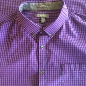 NWT Kenneth Cole Reaction Long Sleeve Button Down